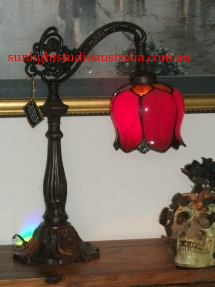 Gothic lights gifts table lamp noveau shade but its well in the gothic scene aloadofball Images