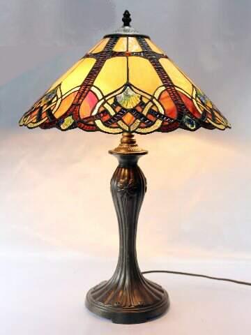 Tiffany table lights lamps bases brisbane se queensland the tl 12375311 30x40h purpleblue flower noveaufederation slumped glass table lamp 180pp aloadofball Choice Image