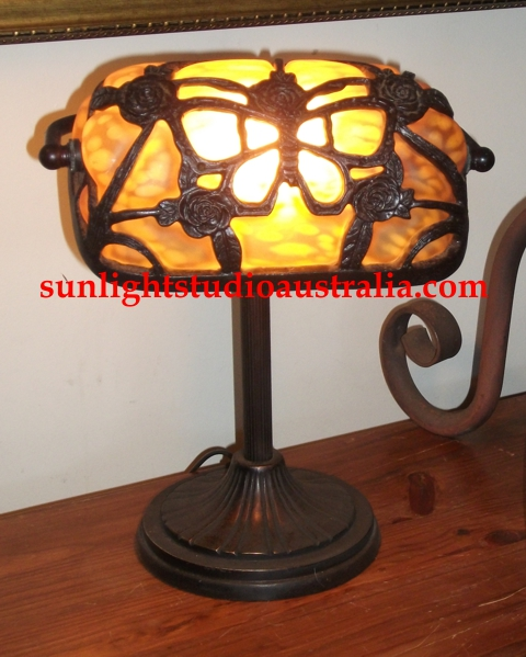 Gothic lights gifts gothic style hand cast iron butterfly cradle whats special about this one its the only one left the glass while molten was blown into the cradle aloadofball Images